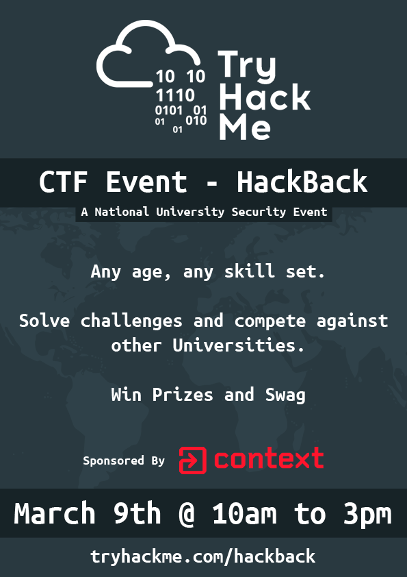HackBack Poster